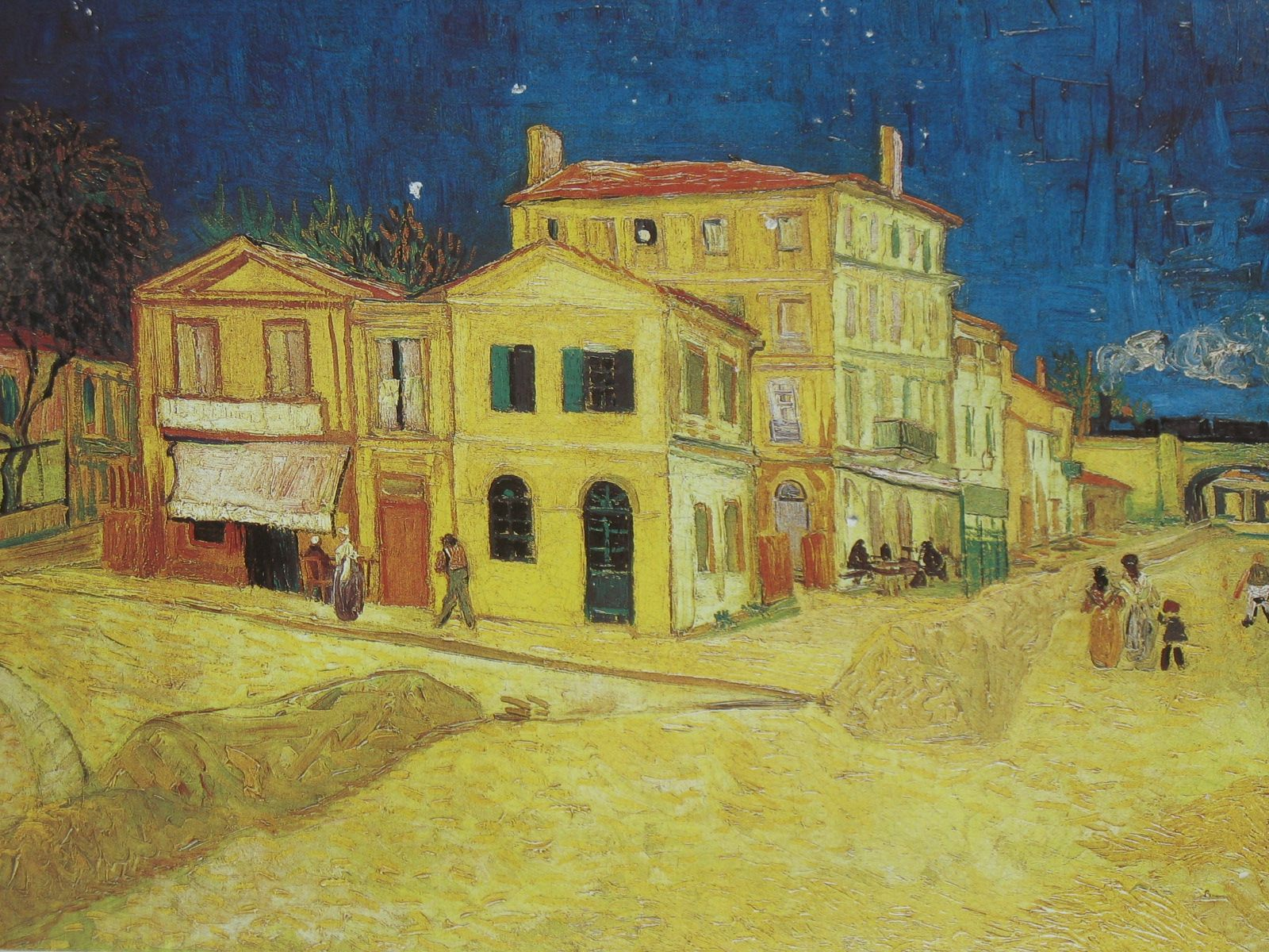 The Yellow House, by Vincent van Gogh, 1888 -Vincent van Gogh (1853–1890)